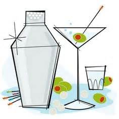 martini shaker clip art 1000 images about bar wine beer wall art on pinterest