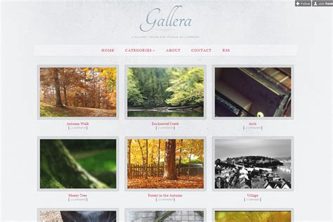 Photo Gallery Theme For By Lathemes Gallera Photography | gallera photo gallery and portfolio theme for tumblr