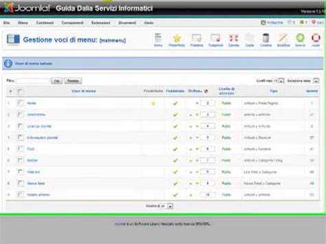 joomla tutorial on youtube 2 joomla tutorial creare e modificare un articolo 5 5