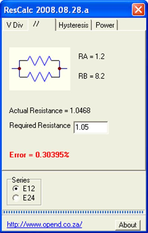 resistor calculator current voltage resistor calculator