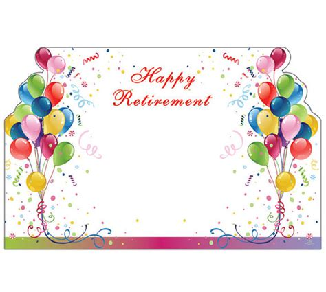 printable retirement gift tags 50 balloons happy retirement print florist blank