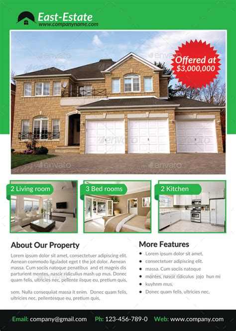 photoshop templates for sale house for sale flyer template 12 download free