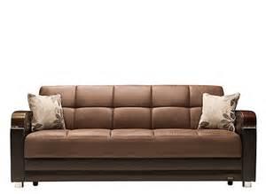 klik klak sofa with storage mira microfiber klik klak sleeper w storage images frompo