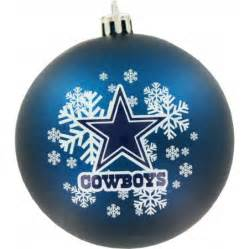 dallas cowboys shatter proof ornament kryptonite kollectibles