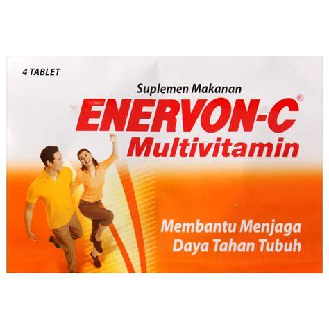 Imunos Kaplet Vitamin Daya Tahan Tubuh Isi 4 Kaplet jual enervon c 4 s store