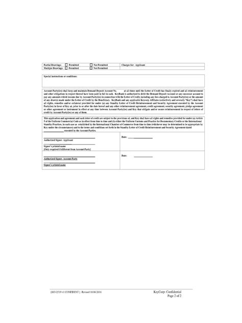 Release Collateral Letter Page Ss5 5 Partial Release Of Collateral 72 Ss5 6 Release Of
