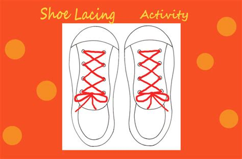 shoe lacing card templates shoes for preschoolers worksheets shoes best free