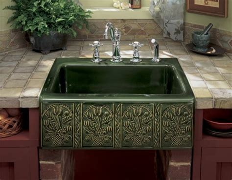 Hands Free Faucet Kitchen by Kohler Kitchen Sinks Fireclay Kitchen Sinks Decorative