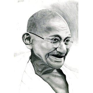 Home Decor Online Shopping In India by Mahatma Gandhi Pencil Sketch Buy Mahatma Gandhi Pencil Sketch Online At Best Prices From