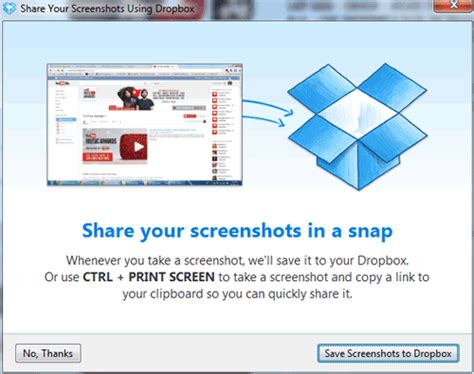dropbox quit shared folder save screenshots directly to dropbox technology blog