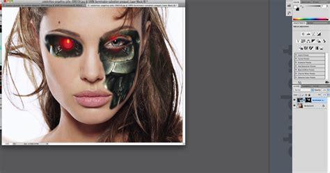 makeup psd templates for photoshop creating terminators face through photoshop pak wai