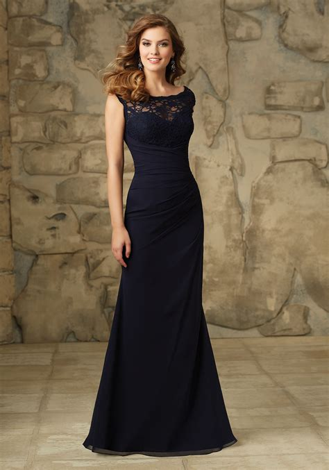 Wedding Dresses And Bridesmaid Dresses by Beautiful Lace And Chiffon Morilee Bridesmaid Dress With