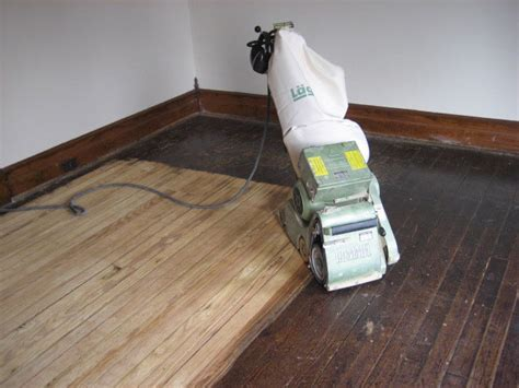 Floor Refinishing by Buff And Coat Your Wood Floors The Bathroom Vanity