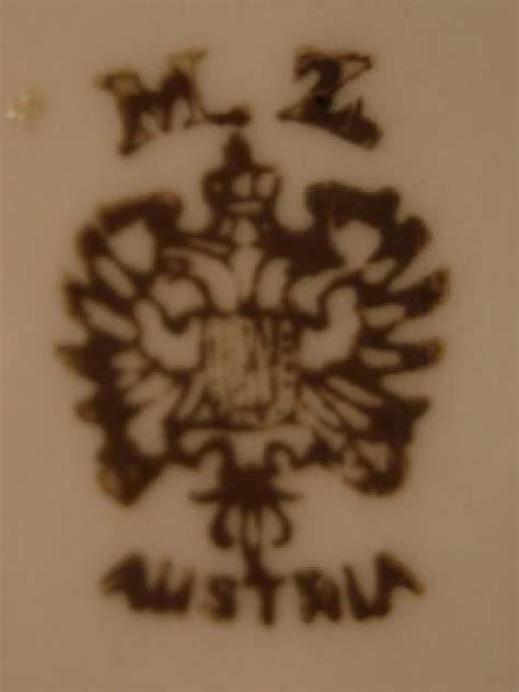 Austrian Vases Markings by Austria Porcelain And Pottery On