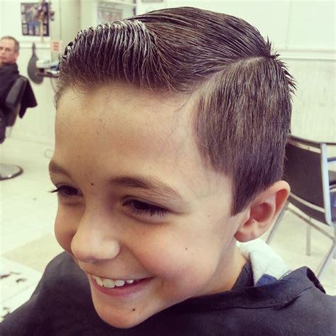 young boys haircuts short back and sides longer on top the gallery for gt comb over haircut with line kids