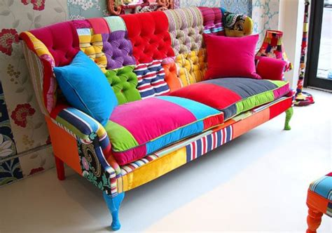 colorful couch quilts color perfect patchwork furniture