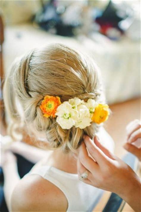 Brautfrisuren Mit Blumen Und Schleier by Top 29 Sch 246 Ne Brautfrisuren Ohne Schleier