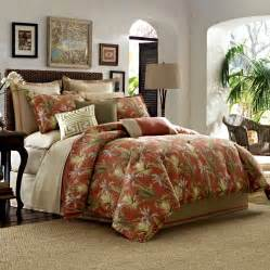Orange Comforter King Tommy Bahama Catalina Bedding Collection From Beddingstyle Com