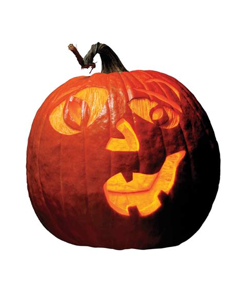 Halloween Pumpkin-Carving Patterns and Pumpkin Templates ... Pumpkin Pattern Free