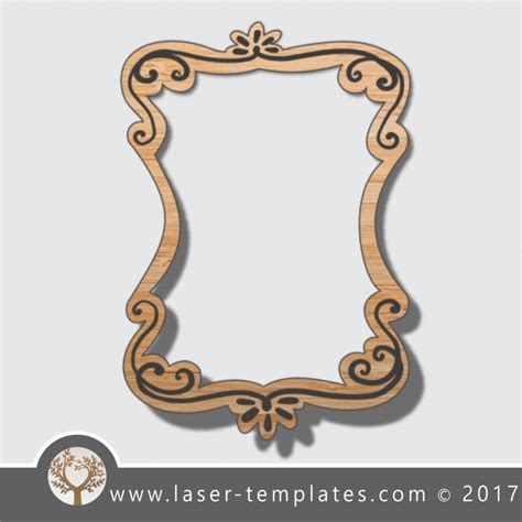 Laser Cut Photo Frames Template Online Laser Cut Design Store Laser Ready Templates Laser Ready Templates
