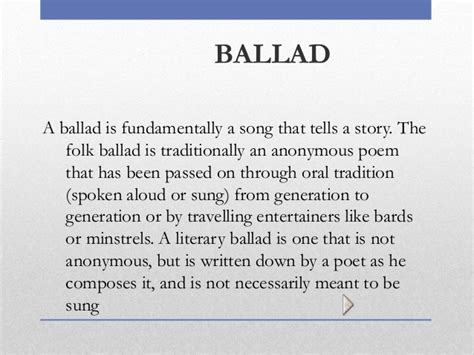 ballad template poetry