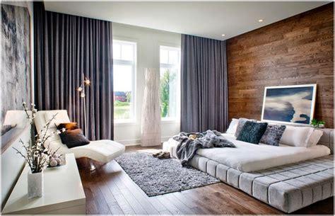 dark floors gray blue curtains gray shag rug white