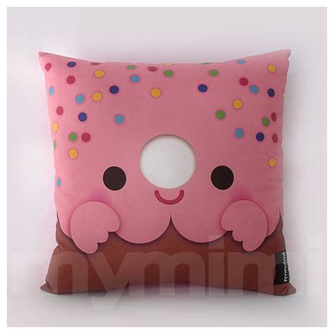 Donut Pillow For 12 x 12 pink donut pillow stuffed room decor