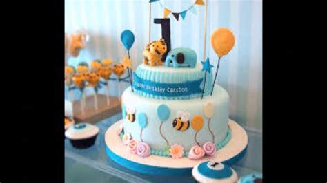 baby boy st birthday cake  youtube