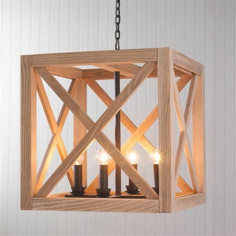 wooden light wooden cube lantern outdoor hanging lights by shades