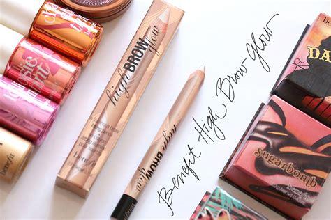 Benefit High Brow Cosmetic Bag unsung makeup heroes benefit high brow glow pencil