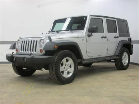 2009 Jeep Wrangler Unlimited X Sell Used 2009 Jeep Wrangler Unlimited X In 1930 W 16th St