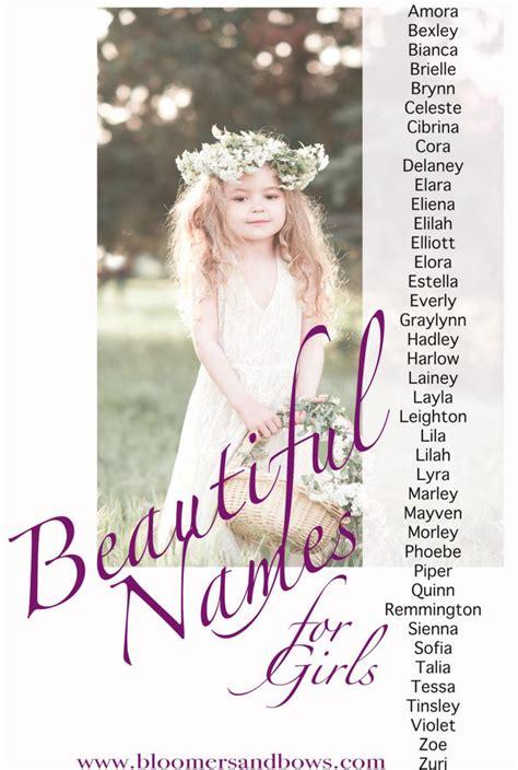 best 25 beautiful baby girl names ideas on pinterest