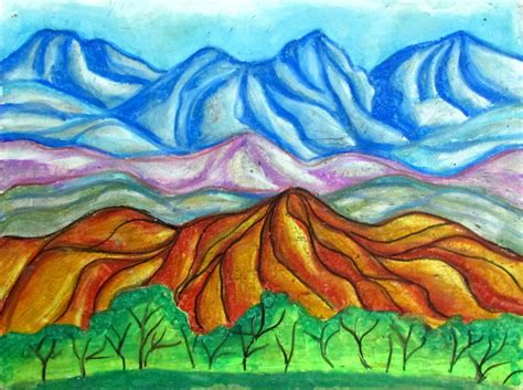 Landscape Paintings Ks2 Free Coloring Pages Of O Keeffe