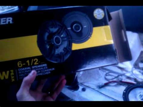toyota corolla rear deck speaker replacement