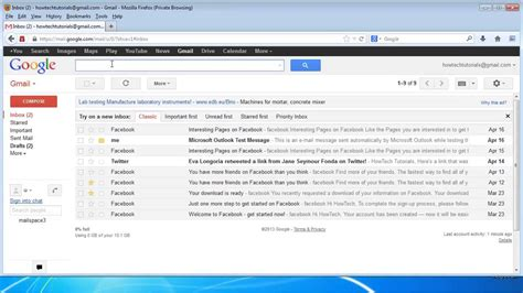 How To Search For Unread Emails In Gmail How To View The Unread Messages In Gmail