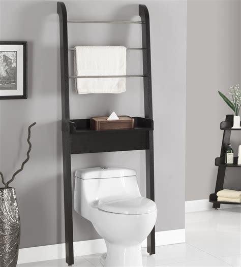 Above The Toilet Bathroom Cabinets Creative Decoration Shelves Toilet Bathroom