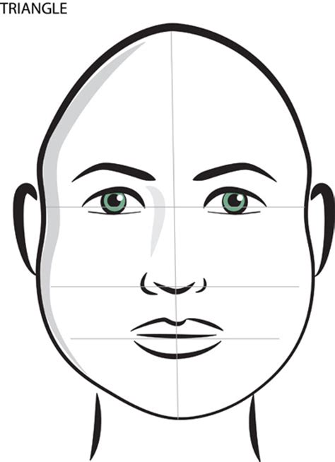 what shape face is an upside down tria mimi s place how to tell the shape of your face