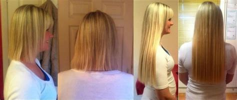 22 inch hair extensions before and after genuine quot remy quot human hair extensions 18 quot long mobile