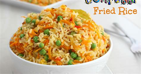 kitchen simmer confetti fried rice vegetarian