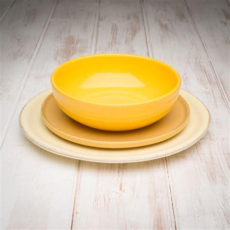 tuscan yellow handmade yellow tuscan dinnerware set
