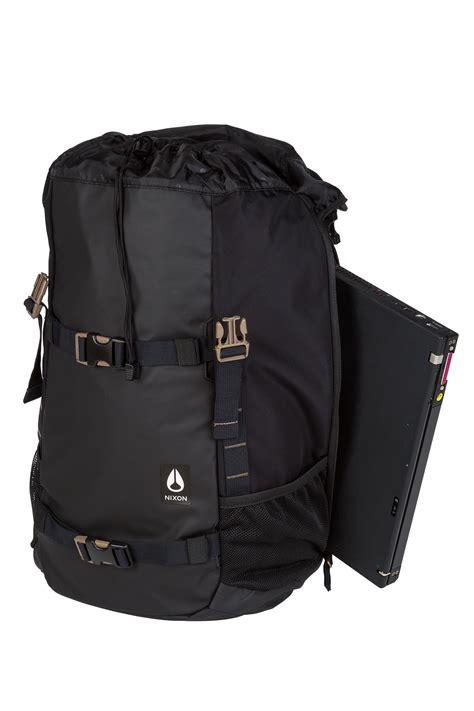 Nixon Landlock Backpack Iii Black C2813000 nixon landlock iii backpack 33l all black buy at skatedeluxe