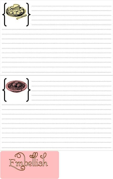 recipe card template for wordpad 17 migliori immagini su organizzazione organizer planner