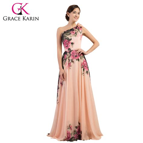 Wed To Be Dresses by Evening Dress Floral Flower Pattern