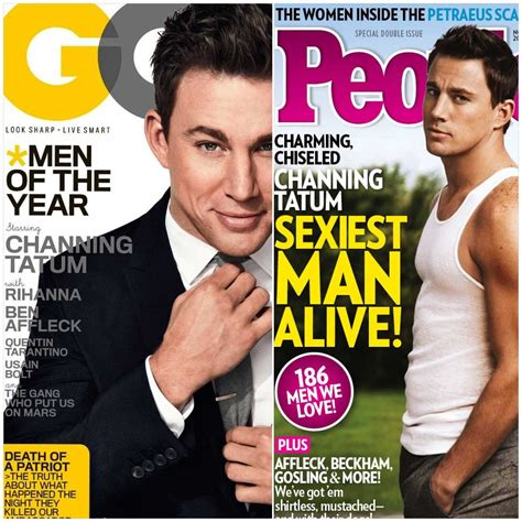 Channing Tatum Sexiest Man Alive Www Pixshark Com Images Galleries With A Bite Sexiest Alive Magazine Cover Template