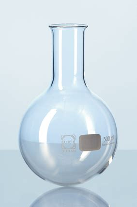 duran boiling flasks and general laboratory glassware