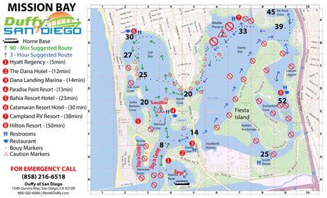 mission bay boat rentals mission bay duffy rental excursion map duffy of san diego
