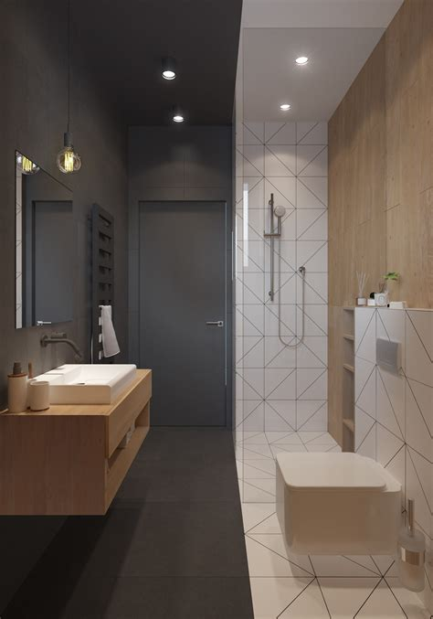 bathrooms without windows a sleek and surprising interior inspired by scandinavian