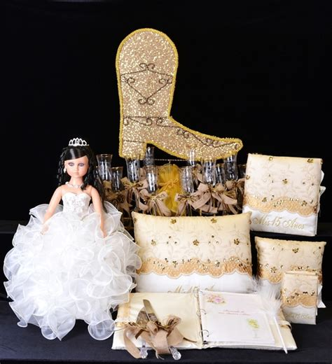 quinceanera cowgirl themes western quinceanera package toasting set doll pillows