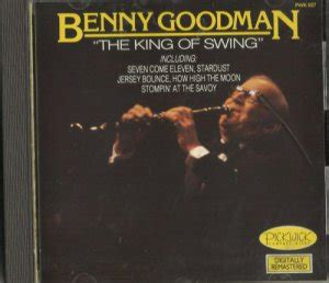 the king of swing benny goodman benny goodman the king of swing cd 1987 pickwick 027 nr