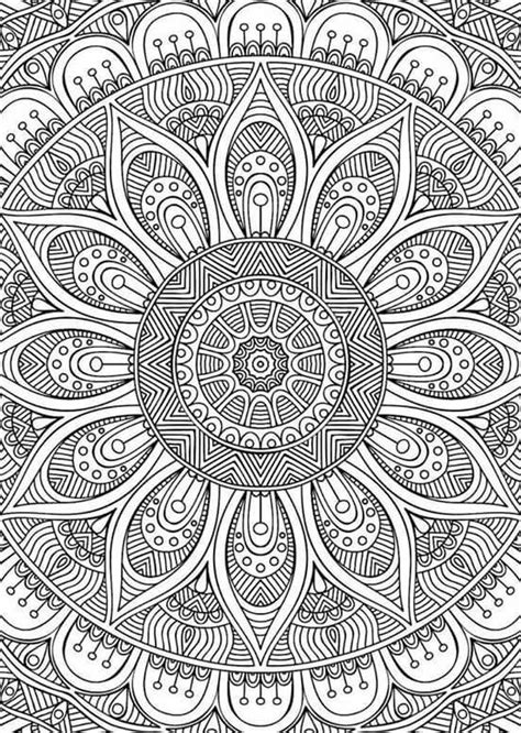 detailed designs coloring pages didzioji mandalu knyga mandala coloring and mandala